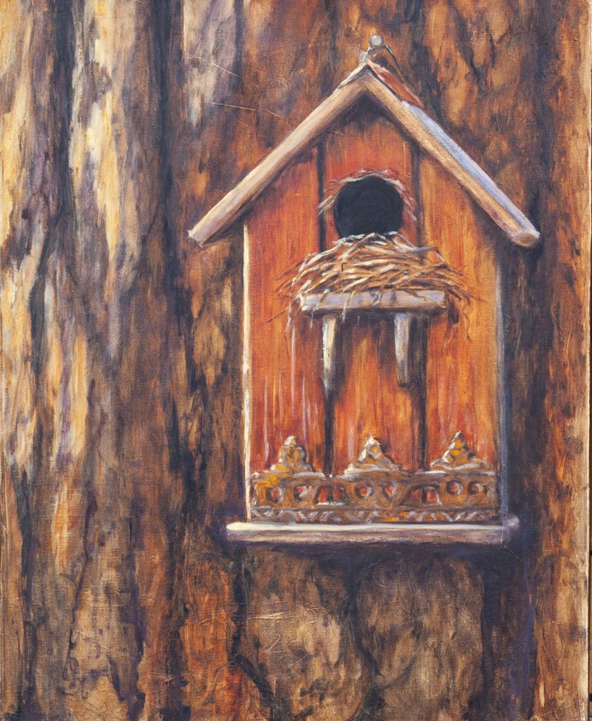 """Home Sweet Home 16x20"""" Oil on Canvas by CJ Campbell"""